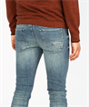 Cast Iron jeans Riser CTR390 in het Denim
