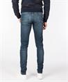 Cast Iron jeans Riser CTR390 in het Donker Blauw
