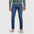 Cast Iron jeans Riser CTR390 in het Parelmoer Blauw