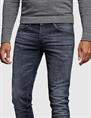Cast Iron jeans Riser CTR390 in het Zwart