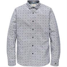 Cast Iron overhemd csi185670 in het Donker Blauw