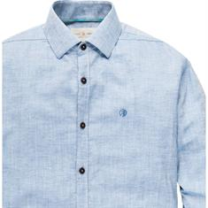 Cast Iron overhemd csi193642 in het Blauw