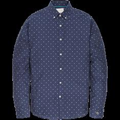 Cast Iron overhemd csi196624 in het Donker Blauw