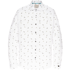 Cast Iron overhemd csi197638 in het Wit
