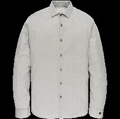 Cast Iron overhemd csi201602 in het Groen