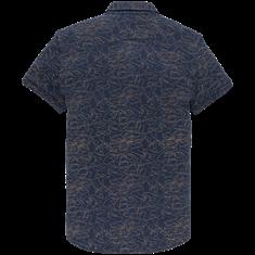 Cast Iron overhemd csis203648 in het Donker Blauw