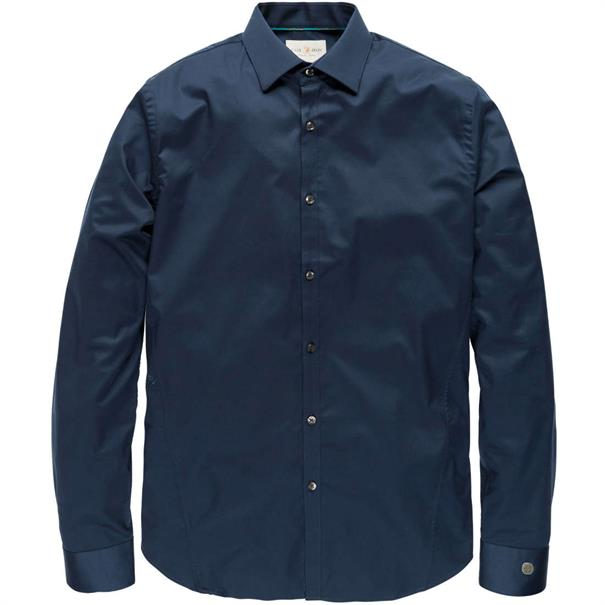 Cast Iron overhemd Slim Fit CSI00429 in het Indigo