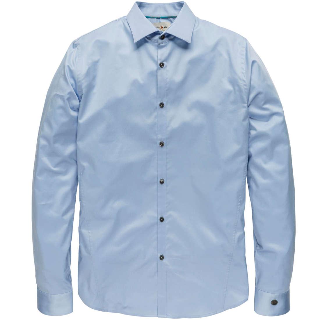 Cast Iron overhemd Slim Fit CSI00429 in het Licht Blauw