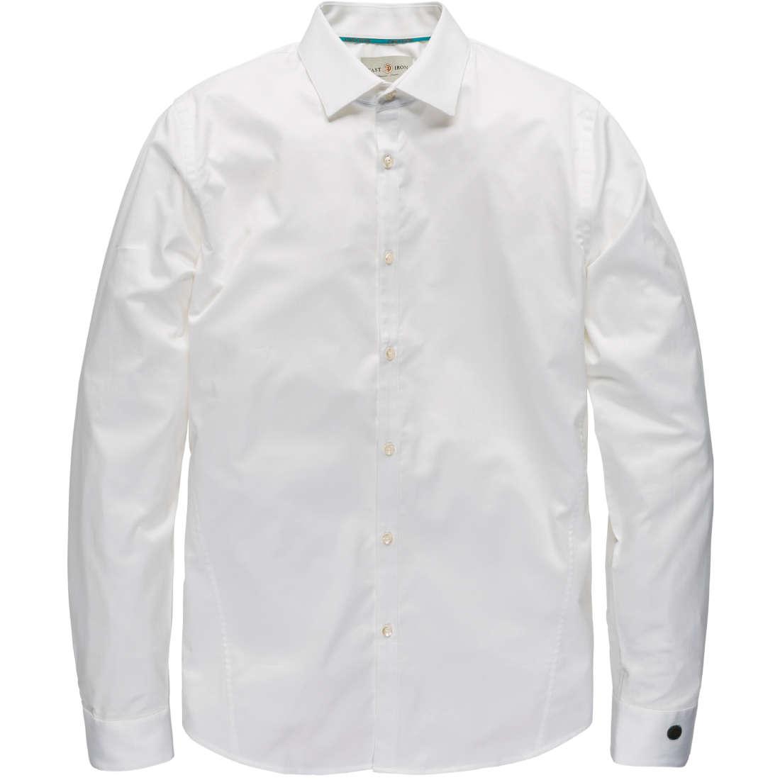 Overhemd Wit Slim Fit.Cast Iron Overhemd Slim Fit Csi00429 In Het Wit