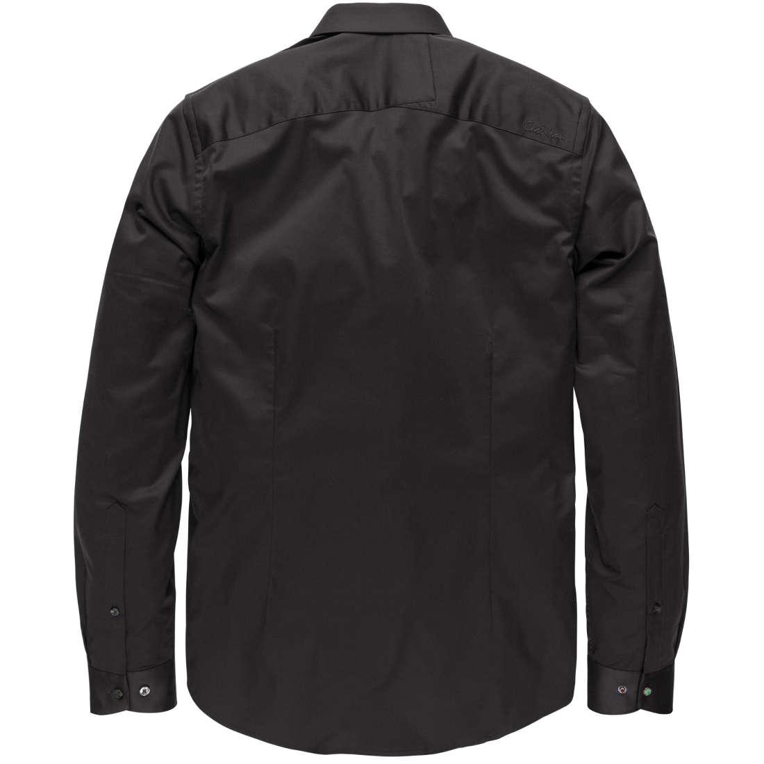 Overhemd Zwart Slim Fit.Cast Iron Overhemd Slim Fit Csi00429 In Het Zwart