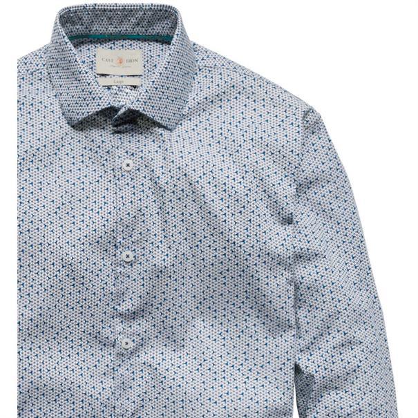 Cast Iron overhemd Slim Fit csi186607 in het Wit