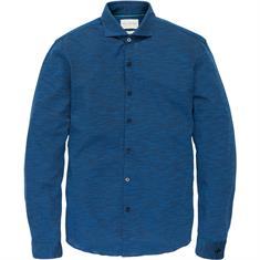 Cast Iron overhemd Slim Fit csi186610 in het Donker Blauw
