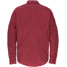 Cast Iron overhemd Slim Fit csi198654 in het Rood