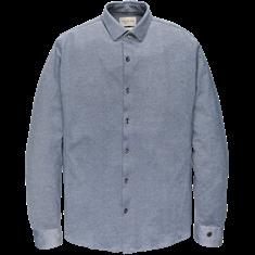 Cast Iron overhemd Slim Fit csi202621 in het Licht Blauw