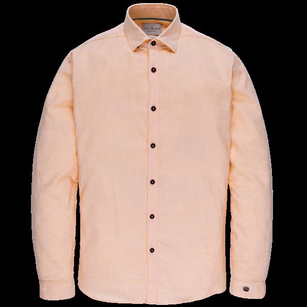 Cast Iron overhemd Slim Fit csi203639 in het Oranje