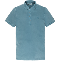 Cast Iron polo's Slim Fit cpss201340 in het Blauw