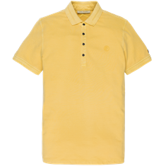 Cast Iron polo's Slim Fit cpss201340 in het Geel