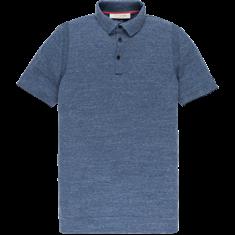 Cast Iron polo's Slim Fit cpss202316 in het Licht Blauw