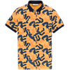 Cast Iron polo's Slim Fit cpss203874 in het Oranje