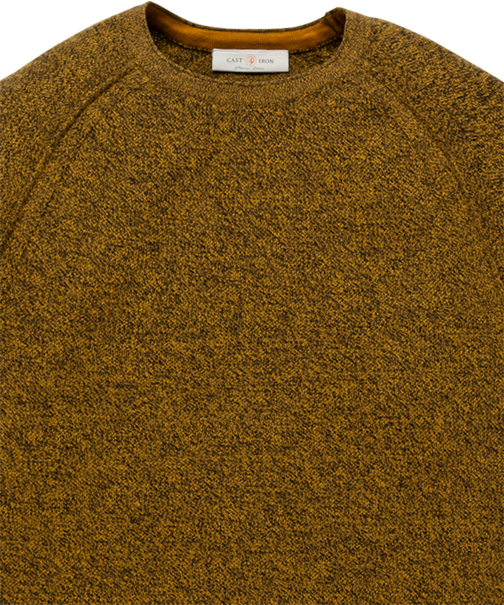 Cast Iron ronde hals trui CKW206330 in het Grijs