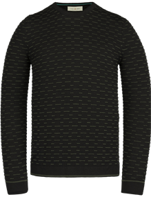 Cast Iron ronde hals trui CKW211300 in het Zwart