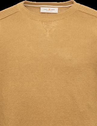 Cast Iron ronde hals trui CKW213320 in het Goud