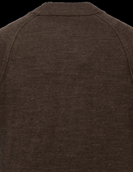 Cast Iron ronde hals trui CKW215301 in het Bruin