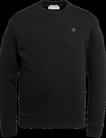 Cast Iron ronde hals trui CSW216401 in het Zwart