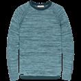 Cast Iron ronde hals trui Slim Fit ckw201304 in het Blauw