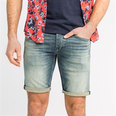 Cast Iron shorts Slim Fit csh202212 in het Blauw