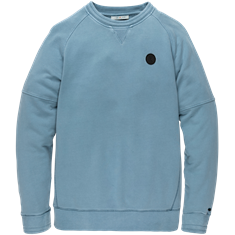 Cast Iron sweater CSW205404 in het Marine