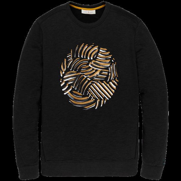 Cast Iron sweater CSW206411 in het Grijs