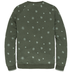 Cast Iron sweater CSW207416 in het Petrol