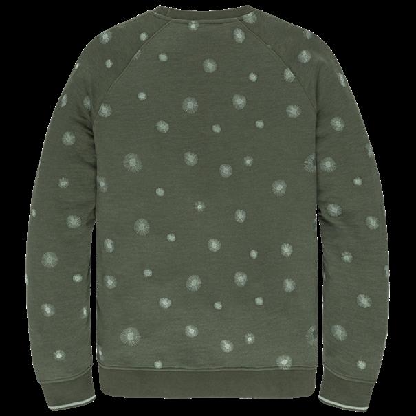Cast Iron sweater CSW207416 in het Petrol