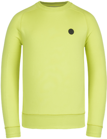Cast Iron sweater Slim Fit CSW211404 in het Lime