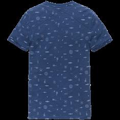 Cast Iron t-shirts ctss202264 in het Licht Blauw