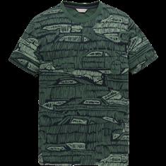 Cast Iron t-shirts ctss204284 in het Groen