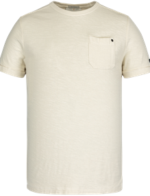 Cast Iron t-shirts CTSS211551 in het Beige