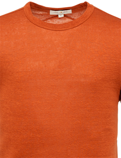 Cast Iron t-shirts CTSS213551 in het Rood