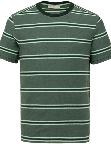 Cast Iron t-shirts CTSS213566 in het Groen