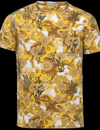 Cast Iron t-shirts CTSS214578 in het Licht Geel