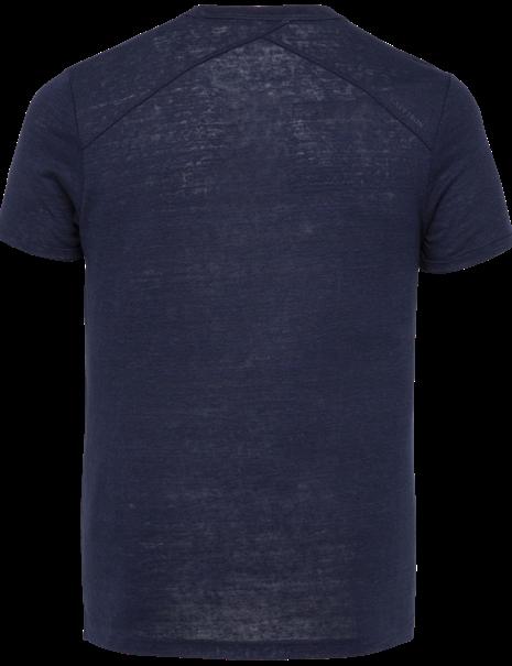 Cast Iron t-shirts CTSS214582 in het Marine