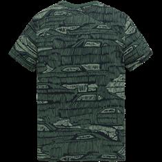 Cast Iron t-shirts Slim Fit ctss204284 in het Groen
