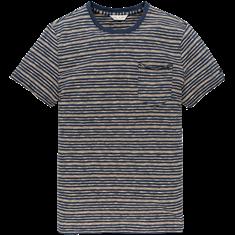 Cast Iron t-shirts Slim Fit ctsss203276 in het Oranje