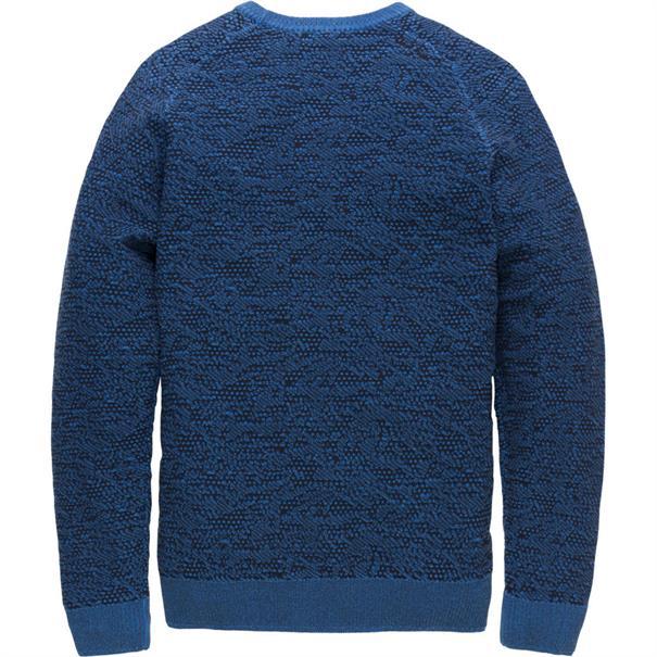 Cast Iron trui ckw186405 in het Donker Blauw