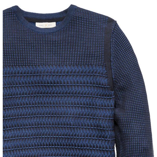 Cast Iron trui ckw186411 in het Donker Blauw
