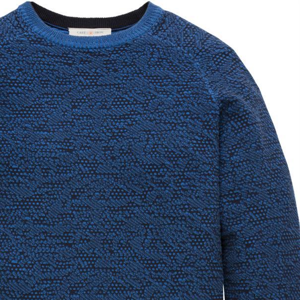 Cast Iron truien ckw186405 in het Donker Blauw