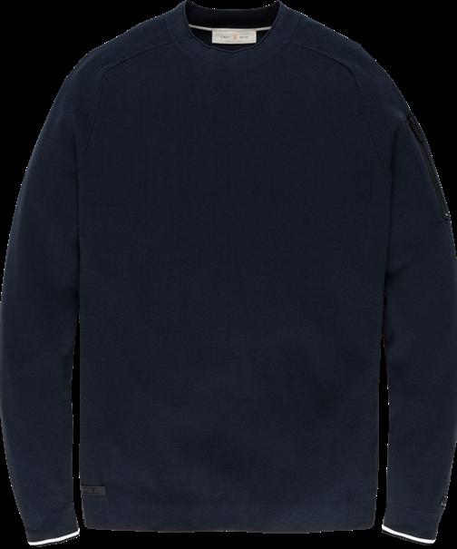 Cast Iron truien CKW205300 in het Donker Blauw
