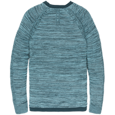 Cast Iron truien Slim Fit ckw201304 in het Blauw