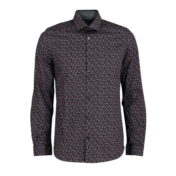 casual overhemd 20337780010 in het Grijs